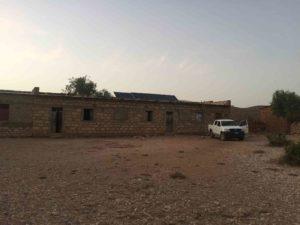 3-1 Schule Adi Gulti mit Solarzellen