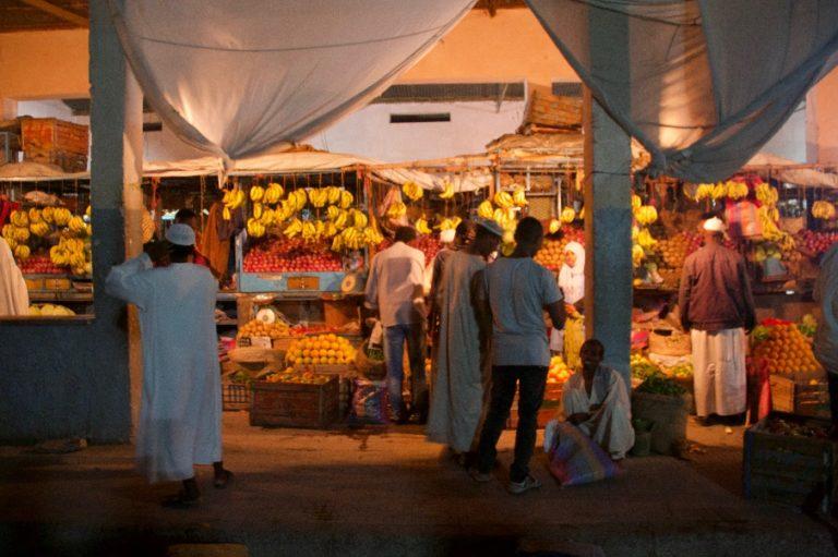 Asmara Tag-Nacht-Markt