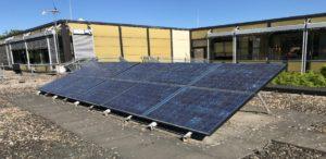 Photovoltaik auf Heilbronner Schuldach