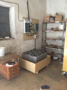 Technikraum Schule Adi Gulti